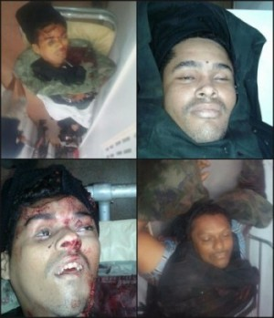 Criminosos mortos em confronto com a polícia durante tentativa de assalto