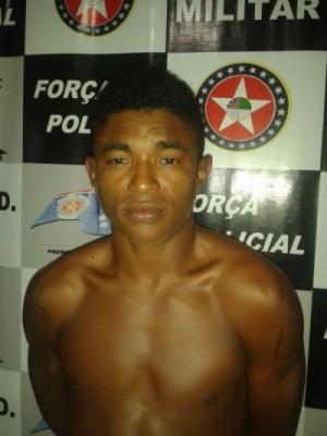 Benedito Silva Santos, preso no povoado de Teso (Penalva).