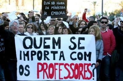 Foto ilustração da greve de professores na UFMA