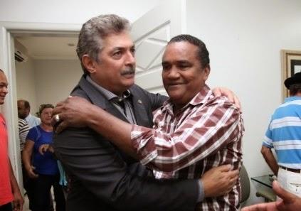 Deputado Carlinhos e Zé Alberto.