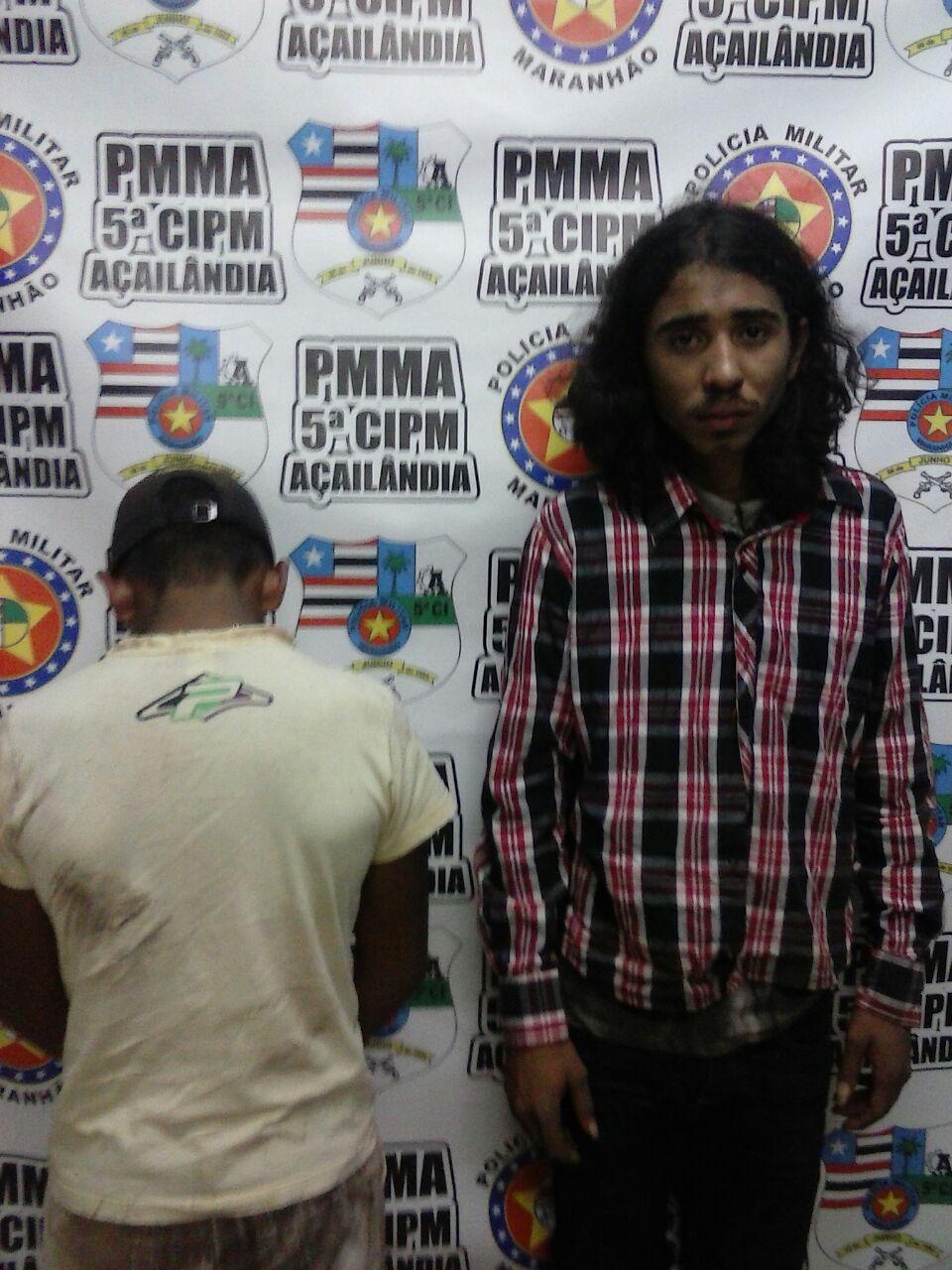 Homens acusados de estupro em Açailândia