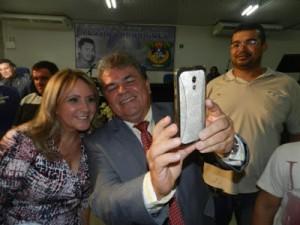 Dr. Linaldo Albino, Fátima Vieira