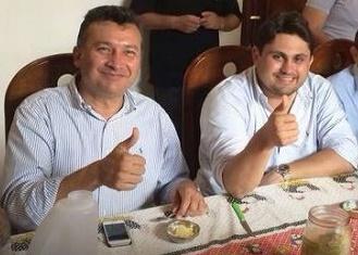 Fernando Fialho ao lado do genro Juscelino Filho.