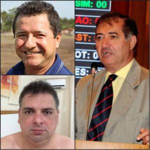 Três dos principais envolvidos no esquema de Anajatuba - Helder Aragão, Fabiano Bezerra e Carlos Braide