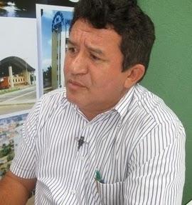 Evando Viana de Araújo, prefeito de Governador Edson Lobão