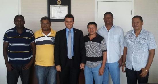 Glalbert reuniu-se com líderes políticos de Central do Maranhão