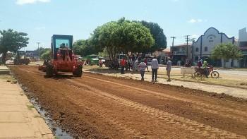 Obras no município estão a todo vapor