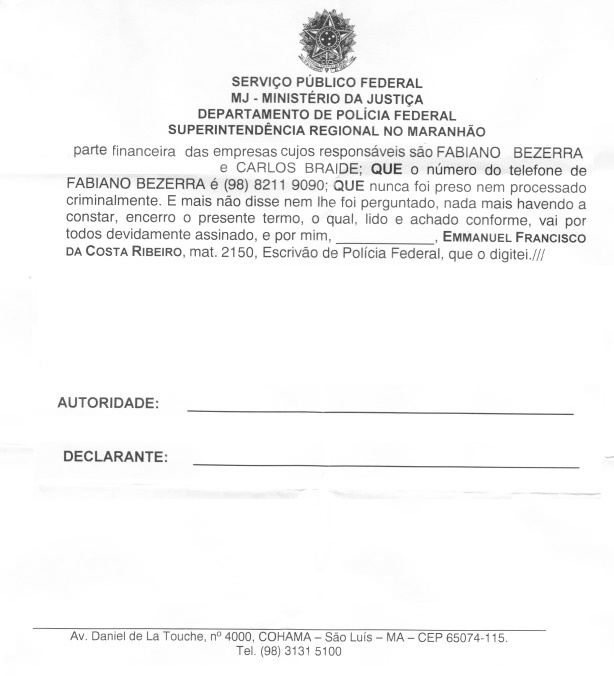 Depoimento mostra que ex-presidente da Assembleia tinha envolvimento no esquema.