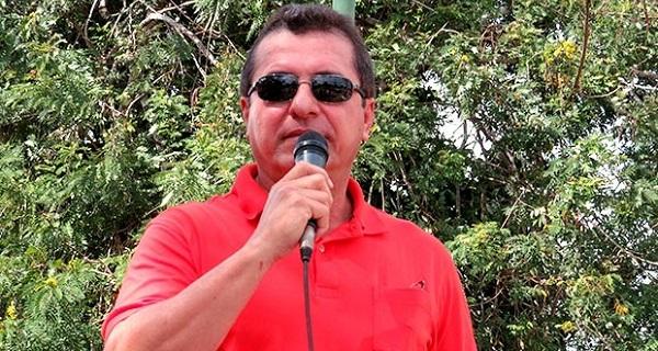 Prefeito Hélder Aragão, afastado do cargo por corrupção.