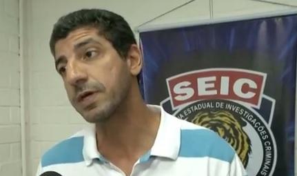 Superintendente Estadual de Investigações Criminais (Seic), delegado André Gossain.
