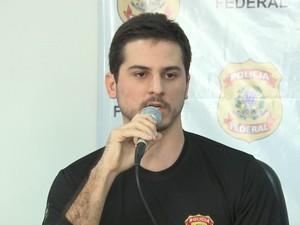 Delegado da Polícia Federal Ronildo Lages (Foto: Reprodução / TV Mirante)