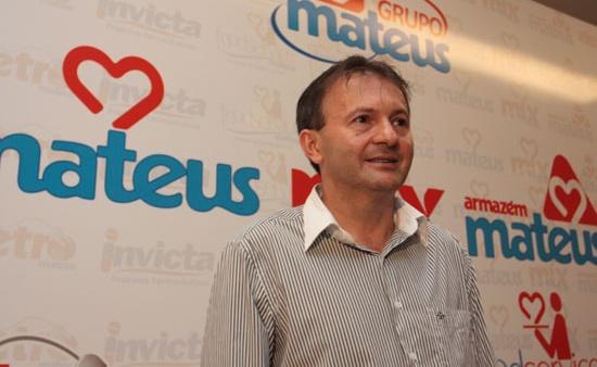 Empresário Ilson Mateus Rodrigues, dono do grupo Mateus.