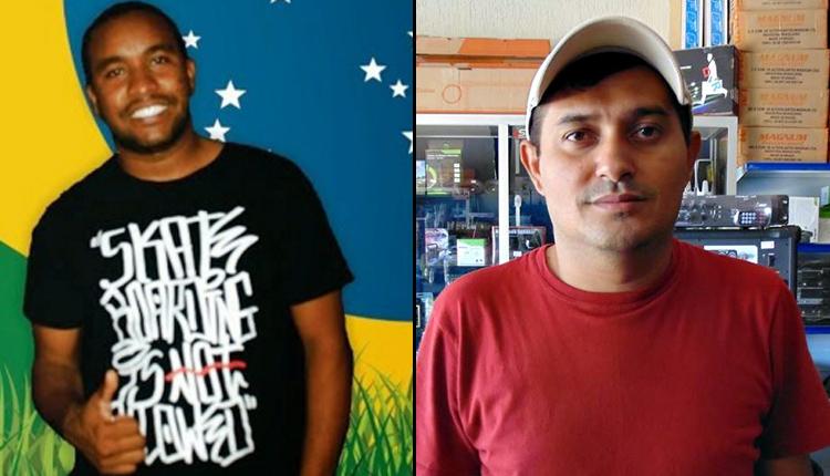 Ítalo Diniz e Orislândio Roberto Araújo, blogueiros mortos nestes mês