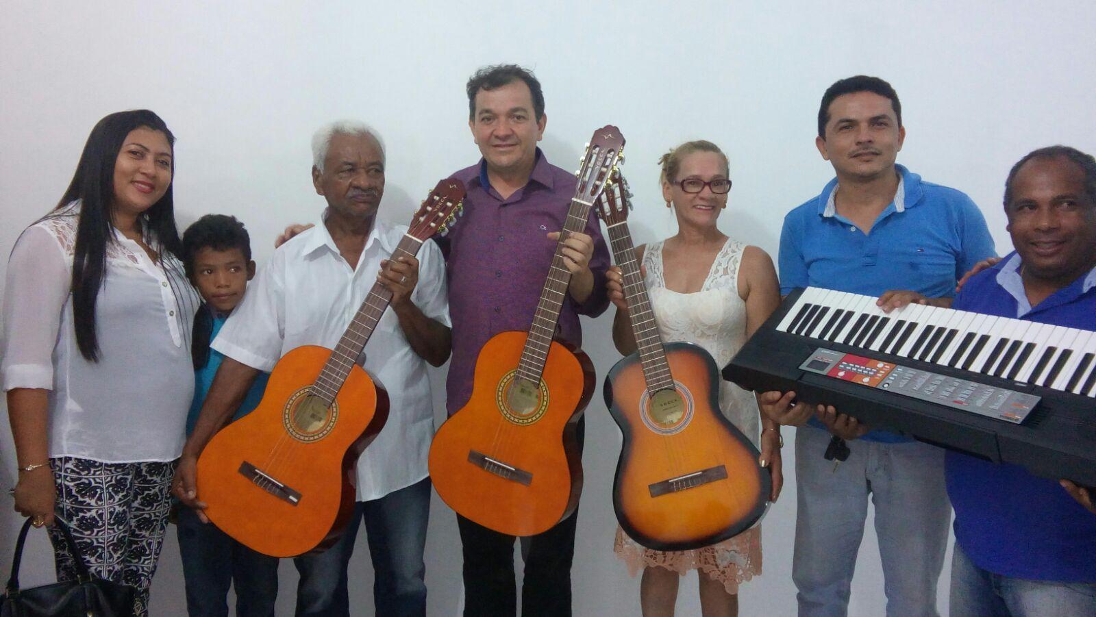 Inauguração da escola de música de São Mateus