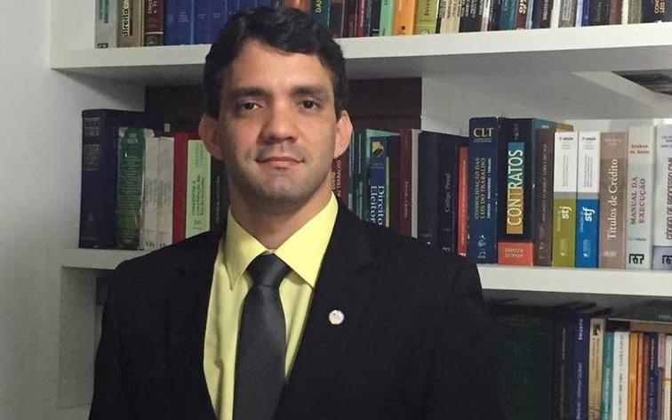 Eleito para a OAB-MA, Thiago Diaz.