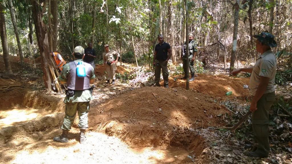 Operação Pântano prende nove pessoas em garimpo ilegal em Turiaçu.