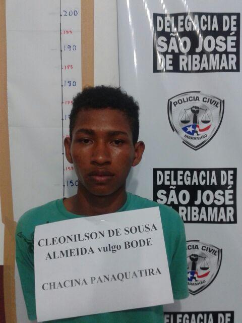 Criminoso suspeito de participar da chacina em Panaquatira.