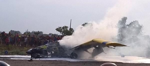 Acidente aéreo em Balsas.