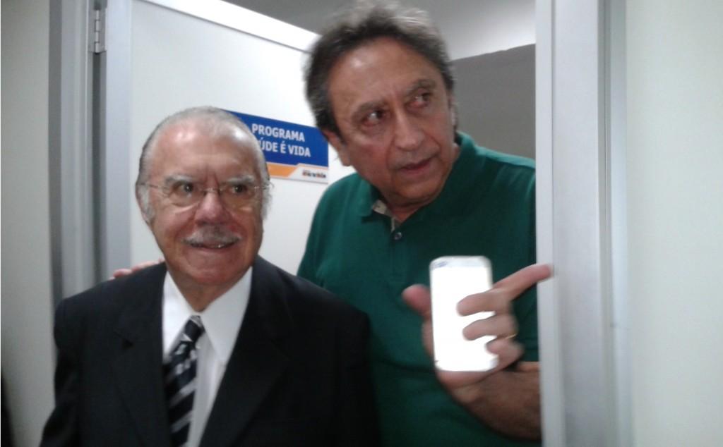 José Sarney e Ricardo Murad.
