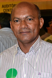 Prefeito de Nina Rodrigues, José Ribamar da Cruz Ribeiro.