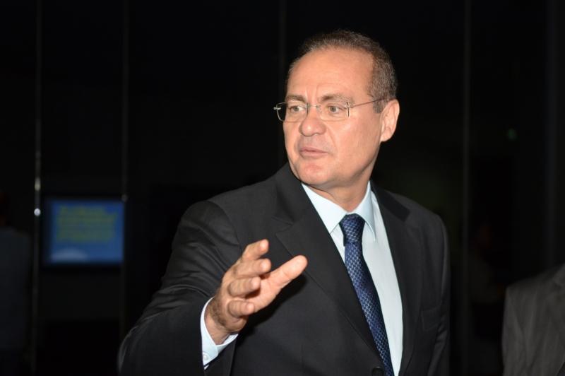 Presidente do senado Renan.