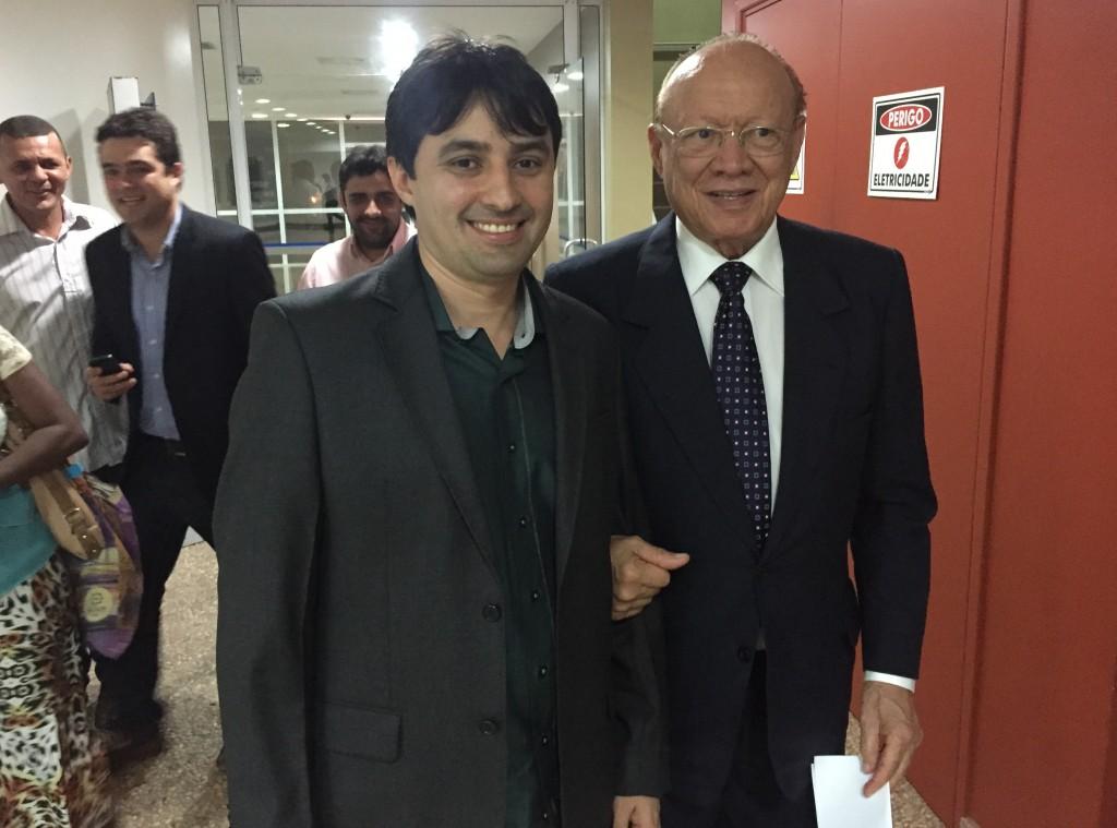 André Campos e o senador João Alberto foto: blog do Neto Ferreira)