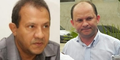 Ex prefeito de Bacabal, Raimundo Nonato Lisboa e agiota Pacovan.