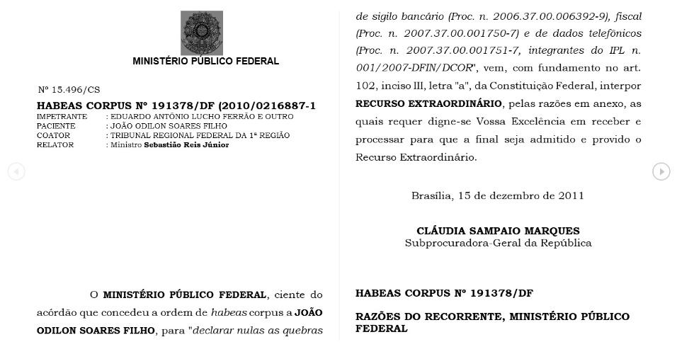 Documento retirado do site UOL Esporte