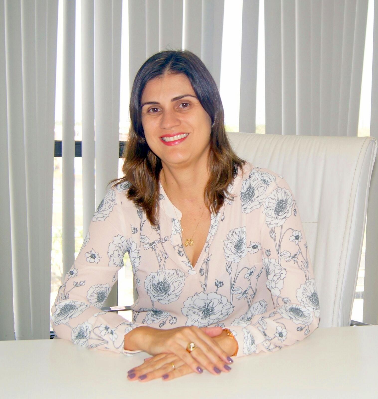 Secretária de Gestão e Previdência, Lilian Guimarães.