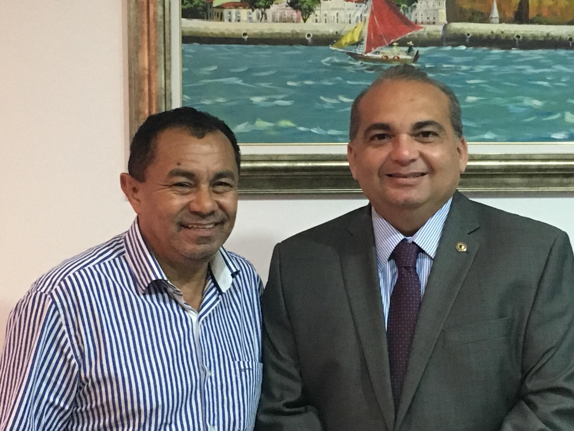 Fabio Braga e prefeito Afonso Celso