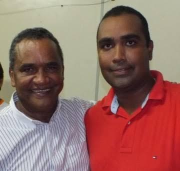 Zé Alberto e o deputado Alberto Filho.