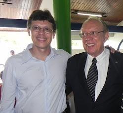 João Marcelo e o senador João Alberto.