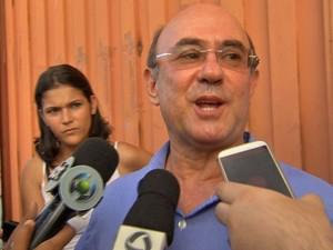 José Riva deixou prisão no último dia 8, após quase 6 meses (Foto: Reprodução / TVCA)