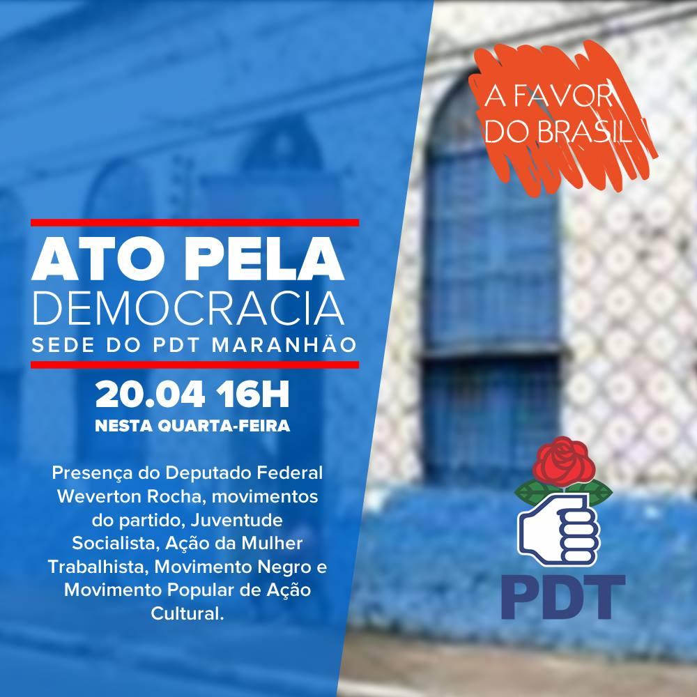 thumbnail_Convite Ato PDT pela Democracia