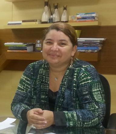 Iracema Vale, prefeita de Urbano Santos.
