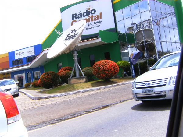 Fachada Rádio Capital