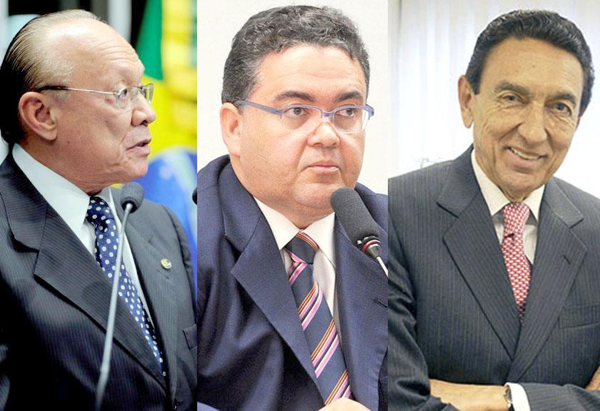 Em discurso na tribuna do Senado, senador João Alberto de Souza (PMDB-MA)