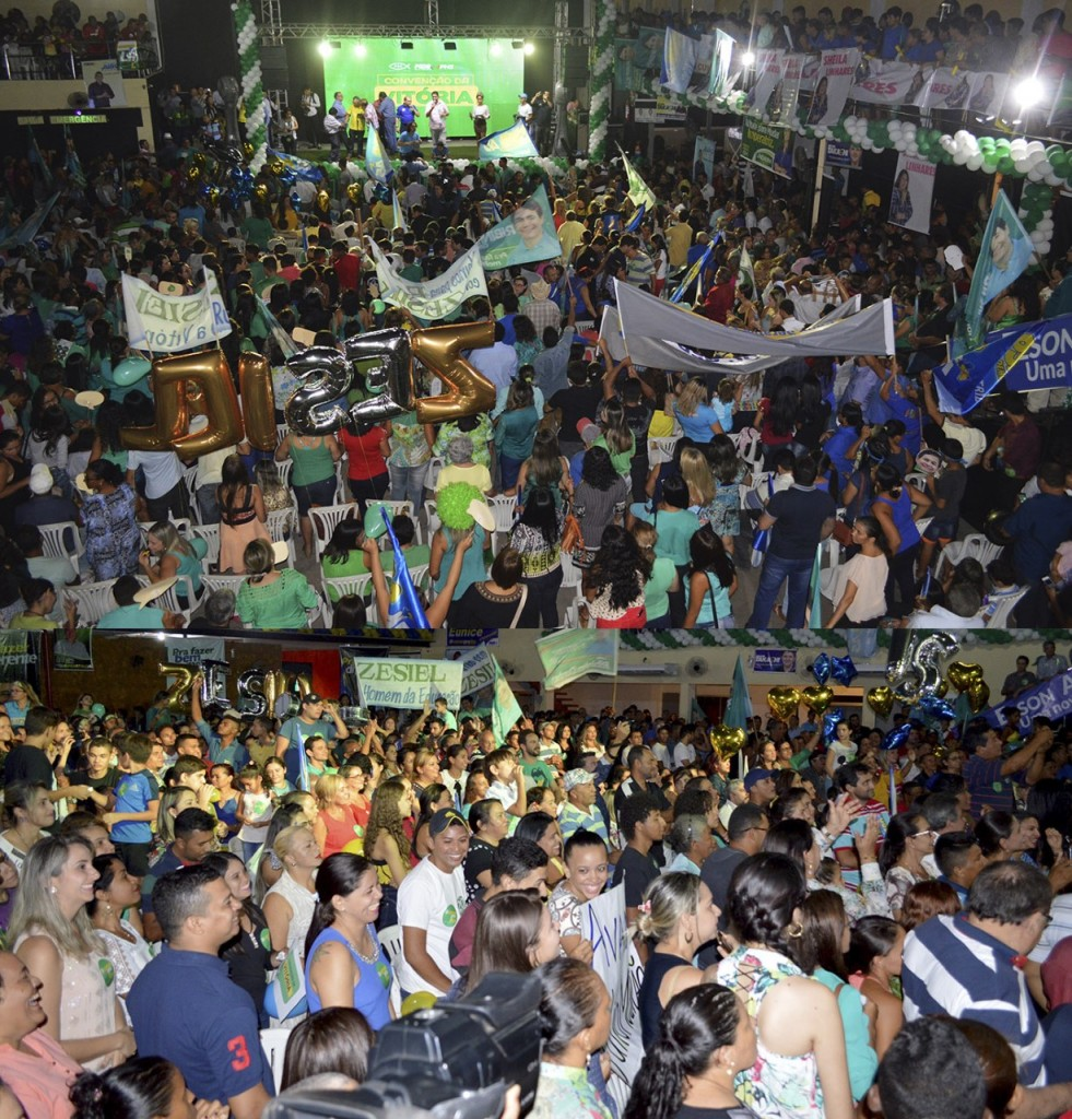 thumbnail_Grande público acompanhou a convenção do PSC que homolgou Ribinha Cunha candidato a prefeito de Imperatriz.