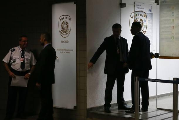 Brasília DF 21/10/2016 POLITICA / OPERAÇÃO METIS A Polícia Federal prendeu policiais legislativos suspeitos de atrapalhar a Operação Lava Jato no Congresso Nacional em Brasilia FOTO José Cruz/ Agência Brasil)