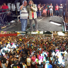 Última noite do Carnaval da Feliz Cidade