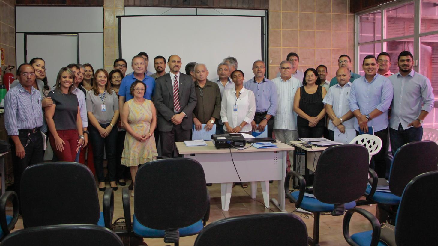 Foto 2 - Equipes do Sebrae e da Prefeitura de São José de Ribamar