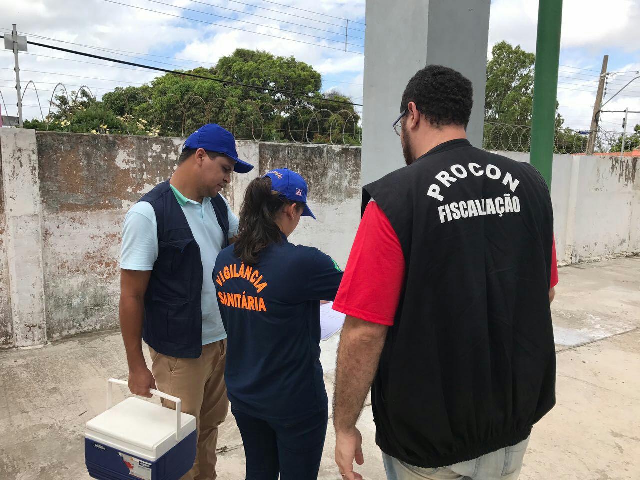 Vigilância Sanitária realiza coletas em localidades de São José de Ribamar e Paço do Lumiar