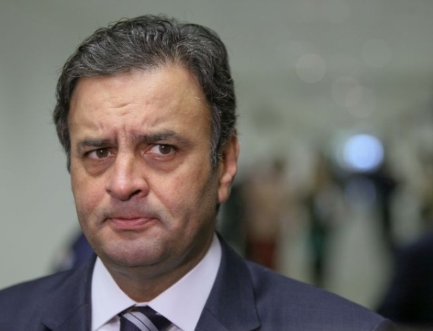 Senador afastado Aecio Neves.