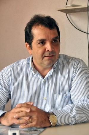 16/05/2014.Crédito:Karlos Geromy/OIMP/D.A.Press.Brasil.São Luís-MA. Dr. Hilton Gonçalo do PDT-MA, reivindica candidatura para Governador do Maranhão.