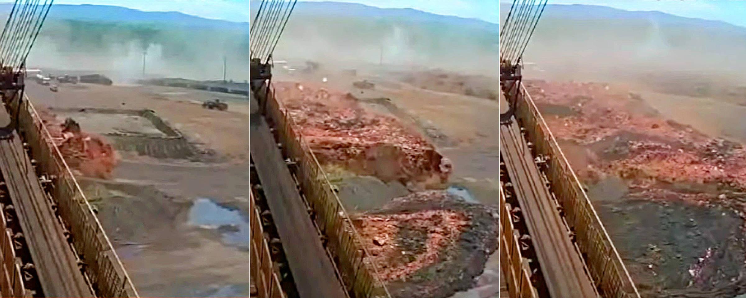 Vídeo mostra momento exato do rompimento da barragem em Brumadinho