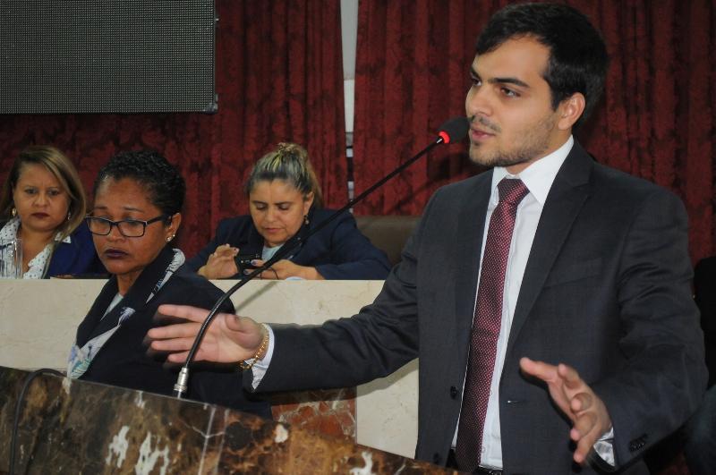 Aldir Júnior, vereador pelo PR, partido liderado pelo deputado Josimar de Maranhãozinho.