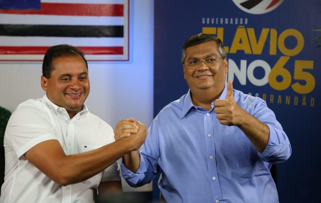 Senador Weverton Rocha ao lado do governador, que antes tinha seu pedido atendido, hoje não mais.
