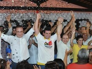 Gil Cutrim foi lançado à reeleição em São José de Ribamar (Foto: Divulgação)