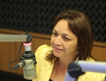 Candidata a prefeita Eliziane Gama.