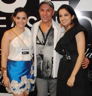 O idealizadores Rafaela Albuquerque, Edilson Ferreira e Fernanda Sousa.